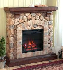 amish electric fireplace corner tv stand heat surge made reviews roll and glow