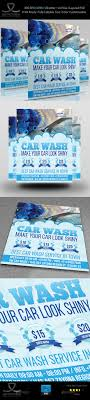 Car Wash Flyer Template Vol.2 By Owpictures | Graphicriver