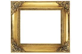 antique frame. Wood Antique Frame Empty Decor Gold Rectangle Picture Gilded E