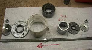 homemade wheel bearing puller. wheel bearing puller - home made homemade rennlist