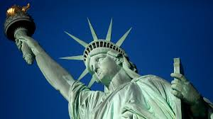 statue of liberty turns as immigration debate rages michael nagle getty images