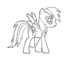 Small Picture Printable 22 My Little Pony Coloring Pages Rainbow Dash 3109