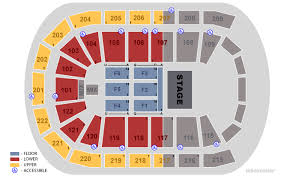 Disney On Ice Target Center Seating Chart Perspicuous Sun National Bank Center Detailed Seating Chart