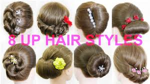 Self Hair Style 8 Up Hair Styles Arrange How To Self Up Style Girls 8342 by wearticles.com