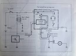 1987 intruder fuel pump fuel pump relay wiring diagram