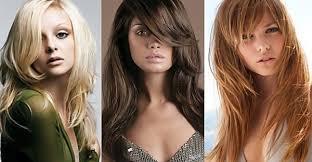 štýlové účesy Pre Dlhé Vlasy ženy Vystrihnuté A Hladké Zostrihy Na