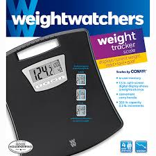 conair scale image for weight watchers weight tracker scale by conair black from weight watchers