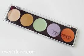 ings list to enlarge make up for ever 5 camouflage cream palette concealer in everbluec