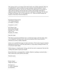 Block Letter Format Sample Letter In Block Format