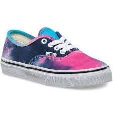 cool vans shoes for boys. vans toddler authentic tie dye shoes - pink/blue 4y cool for boys n