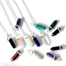 quartz jewelry accessories natural stone for jewelry making diy healing stone jewelry craft