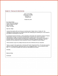 Thank You Email After Interview Template Writing A Thank You Email