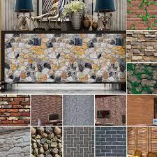 Home Decor 3D Wall Stickers Brick ...