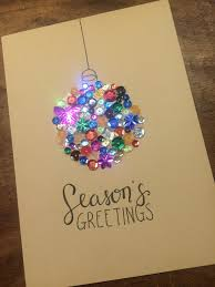 Christmas Card Ideas With Lights Kerstwend Homemade Christmas Crafts Diy Christmas Cards