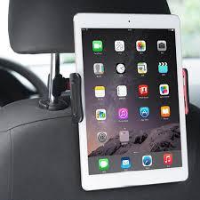 Adjustable Car Seat Headrest <b>Mount Folding Tablet</b> Phone <b>Holder</b> ...