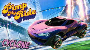PIMP MY ROCKET LEAGUE RIDE - CYCLONE ...