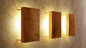 Small Picture Wooden wall lights fit perfectly to the interiors of your homes