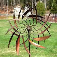 metal spinning yard art metal wind spinners for garden home improvement