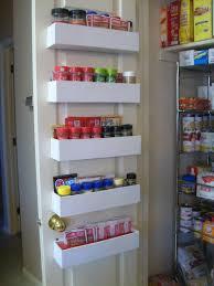Kitchen Storage Racks Metal Backyards Diy Pantry Door Spice Racks The Owner Builder Network