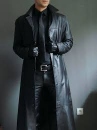 long trench coat mens men leather coat winter long leather coat genuine real leather trench coat long trench coat mens details