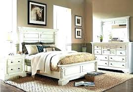 Antique White Bedroom Sets Distressed Comfortable Rustic Set Wood ...