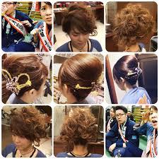 2015浜松まつりヘアアレンジ カットスタジオ ルーズ