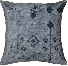Signature Design by Ashley® Oatman Set of 4 Slate Blue Throw ...