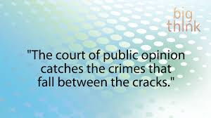 Image result for court of public opinion