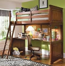 Teenage Girl Bunk Bed With Desk