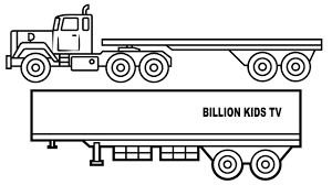 Destiny Rv Coloring Pages Startling Pictures Of Trucks To Color
