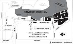 Summerfest Parking Summerfest The Worlds Largest Music