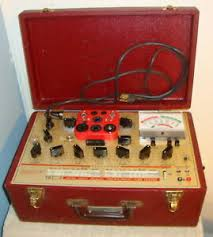 Details About Hickok 6000a Mutual Conductance Tube Tester With Repro Manual Tube Booklet