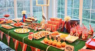 Super Bowl Party Decorating Ideas Superbowl Party Dessert Table Archives Pretty My Party 60