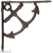 octopus cast iron wall shelf brackets