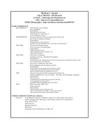 Horticulture Resume Template Resume Applications For Mac Vfx
