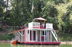Find lake properties for sale at the best price Floating Red Lake Lounge Tiny House For Sale In White Georgia Tiny House Listings