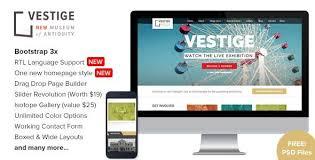 Free Bookstore Website Template Free Bookstore Website Template Vestige Museum V1 8 8 Responsive