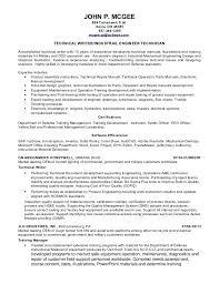 Example Of Technical Writing Resume Sample Writer John P Tomahawk