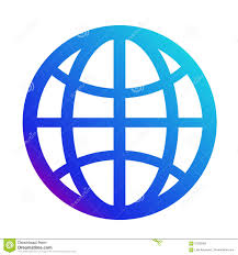 Icon Internet. Symbol Of The Website. Globe Sign Stock Vector -  Illustration of mobile, technology: 97282062