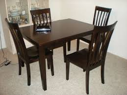 Gorgeous Art Beguile Black Brown Dining Table Set Tags - Brown dining room chairs