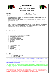 sow y a christmas carol hertfordshire grid for learning