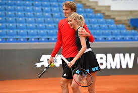 Alexander zverev followed up his olympic gold medal with a victory in the men's final of the western & southern open, and ash barty claimed her fifth title of the season in the women's final. Alexander Zverev Splits With Girlfriend Amid Rumours He Is Dating German Model Lena Gercke Who He Paired With In Celebrity Tennis Match