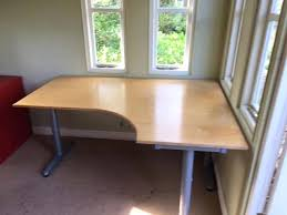 lovely ikea galant desk images office corner with t legs right hand