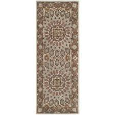get ations safavieh handmade heritage medallion blue grey wool rug 2 3 x