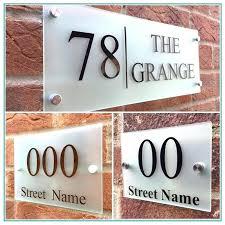front door numbers front door numbers chrome front door numbers