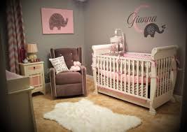 10 10 pink and gray elephant nursery
