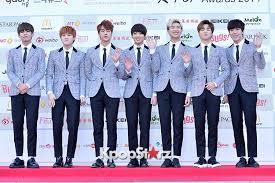 Gaon Chart Kpop Awards 2015 Bangtan Boys Attends The 4th Gaon Chart Kpop Awards Jan 28