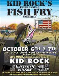 Kid Rock Returns With His Annual Fish Fry At Fontanel