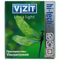 Презервативы <b>Vizit Hi-Tech</b> Ultra Light в Санкт-Петербурге купить ...