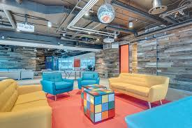 cool office games. king sourced the sofa and armchair from wayfair rubiku0027s cube tables were custom by madrona bay decor cool office games